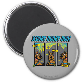 Scooby-Doo donde está usted los paneles cómicos Imanes