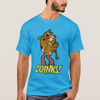 ¡Scooby-Doo y Zoinks lanudo! Camiseta