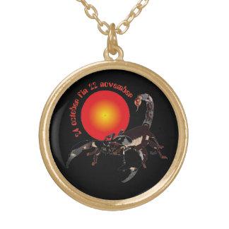 Scorpiun 24 october fin 22 collar November