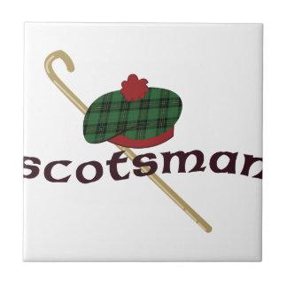 Scotsman Azulejo Cuadrado Pequeño
