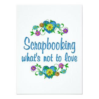 Scrapbooking al amor invitación