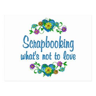 Scrapbooking al amor postal