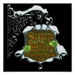 ScroogeHauntedSign Poster