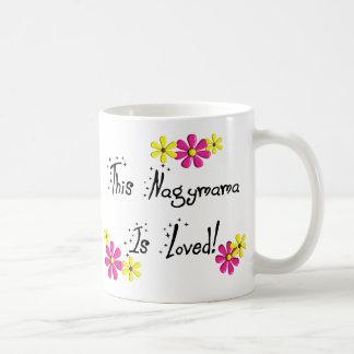 SE AMA este Nagymama (abuela húngara) Taza De Café