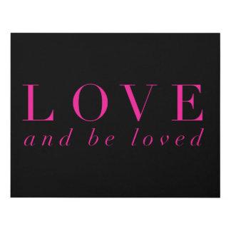 Se ame el amor y (el negro) cuadro