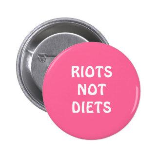 """""""Se amotina botón no de las dietas"""""""