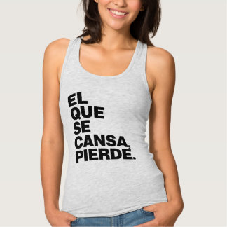 """""""SE Cansa, Pierde del EL Que."""" Camisa de la"""