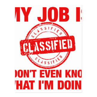 se clasifica mi trabajo, I…. Postal