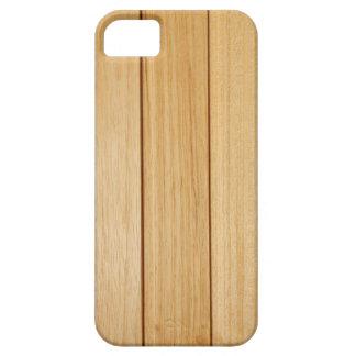 SE de madera del iPhone de las tejas+caso 5/5S Funda Para iPhone SE/5/5s