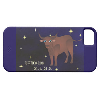 SE del iPhone del zodiaco del tauro + iPhone 5/5S, Funda Para iPhone SE/5/5s
