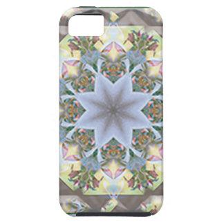 SE duro del iPhone de la mandala de la estrella + Funda Para iPhone SE/5/5s
