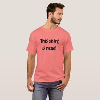 Se lee esta camisa