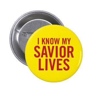 Sé mis vidas del salvador. botón