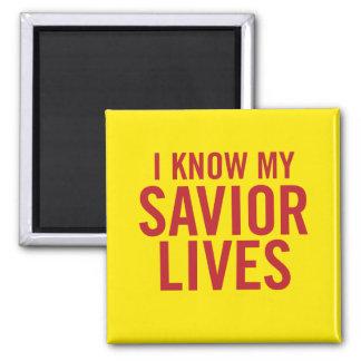 Sé mis vidas del salvador. Imán