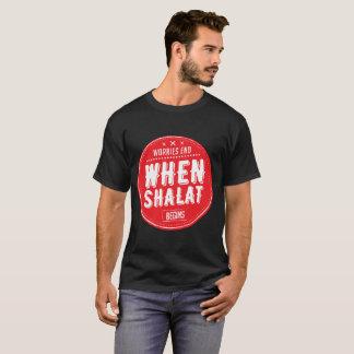se preocupa el extremo cuando el shalat comienza camiseta