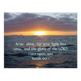 Se presenta el brillo - 60:1 de Isaías Postal