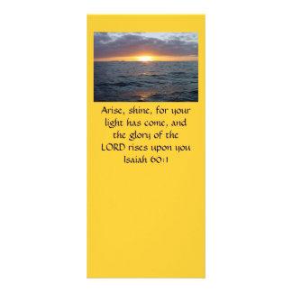 Se presenta el brillo - 60:1 de Isaías Tarjetas Publicitarias A Todo Color