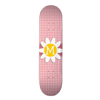 Se ruboriza la guinga rosada Margarita Patines Personalizados