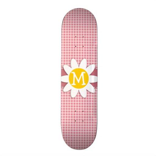 Se ruboriza la guinga rosada; Margarita Patines Personalizados