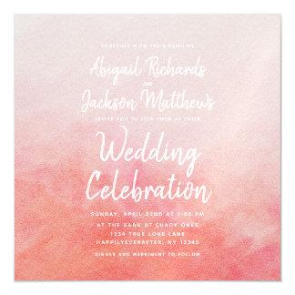 Invitación Magnética Se ruborizan invitación magnética del boda del
