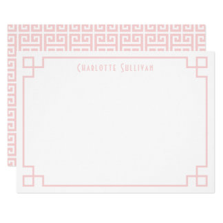 Se ruborizan los efectos de escritorio invitación 12,7 x 17,8 cm
