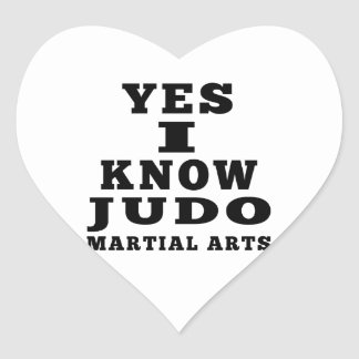 Sé sí judo colcomanias de corazon personalizadas