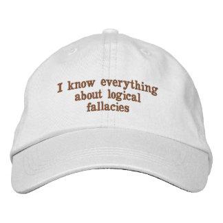 Sé todo sobre el gorra lógico de los errores