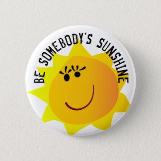 Sea alguien botón de la sol