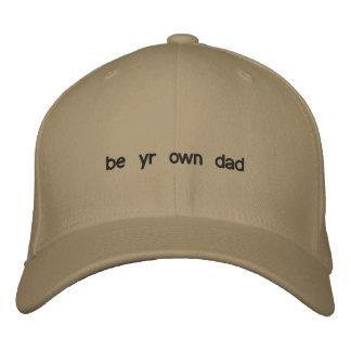 sea año poseen al papá gorra bordada