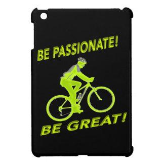 ¡Sea apasionado! ¡Sea grande! Verde del motorista