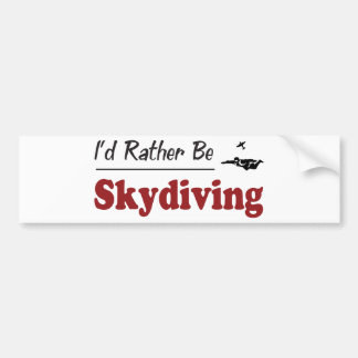 Sea bastante Skydiving Pegatina Para Coche