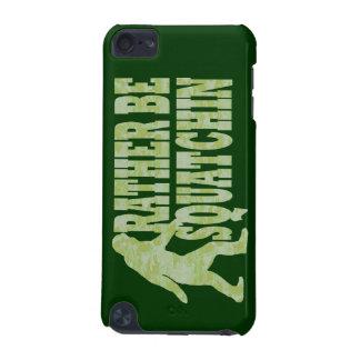 Sea bastante squatchin en camuflaje verde funda para iPod touch 5G