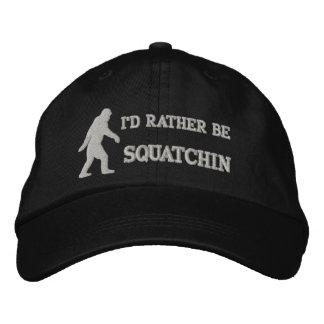 Sea bastante squatchin gorras de beisbol bordadas
