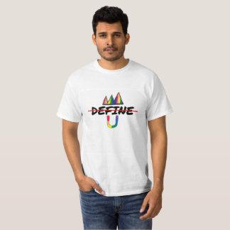 Sea blanco de U no definen la camiseta de U