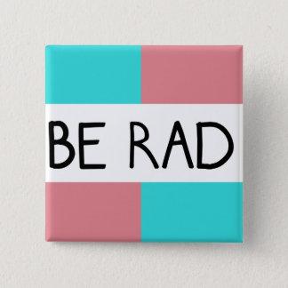 Sea botón cuadrado del Rad