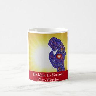 Sea bueno consigo mismo taza de café fibro del