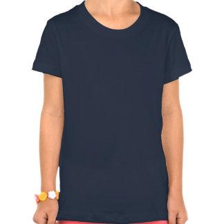 Sea calma y alegría ENCENDIDO Camisetas