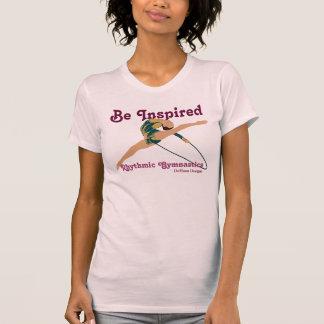 Sea camiseta gimnástica rítmica inspirada de las s