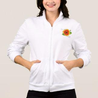Sea chaqueta feliz de la flor