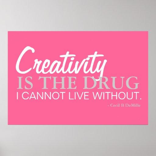 Sea creativo - inspiración del poster