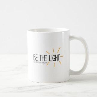 Sea el ministerio de salud mental ligero taza de café