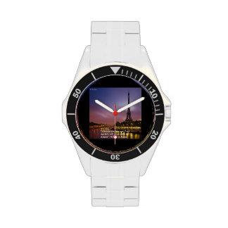 Sea elegante en reloj del acero inoxidable de