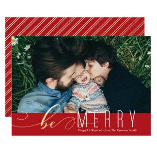 Sea feliz falsa tarjeta del día de fiesta del