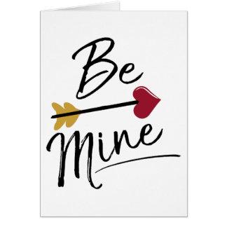 Sea los míos las tarjetas del día de San Valentín
