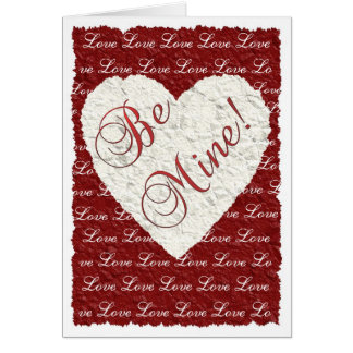 ¡Sea los míos! Tarjeta del día de San Valentín