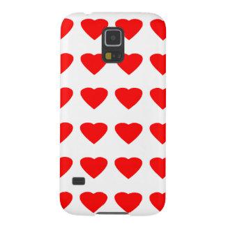 Sea mi jGibney de los corazones 36Red Transp de la Funda Para Galaxy S5