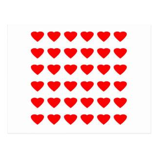 Sea mi jGibney de los corazones 36Red Transp de la Tarjeta Postal