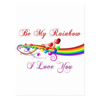 Sea mi tarjeta del día de San Valentín del gay del Postal