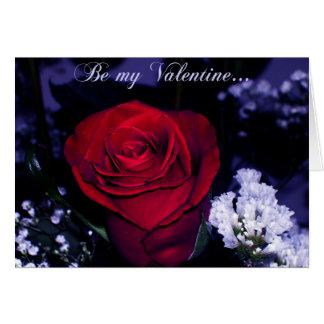 ¿Sea mi tarjeta del día de San Valentín? - Rosa