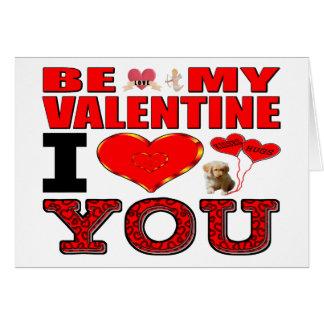 Sea mi tarjeta del día de San Valentín te amo